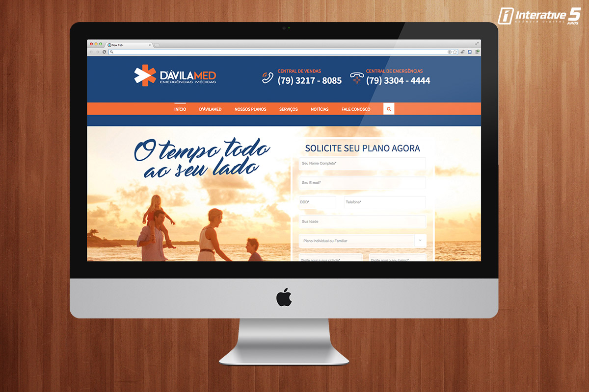 D'ávila Med Lança seu novo site.